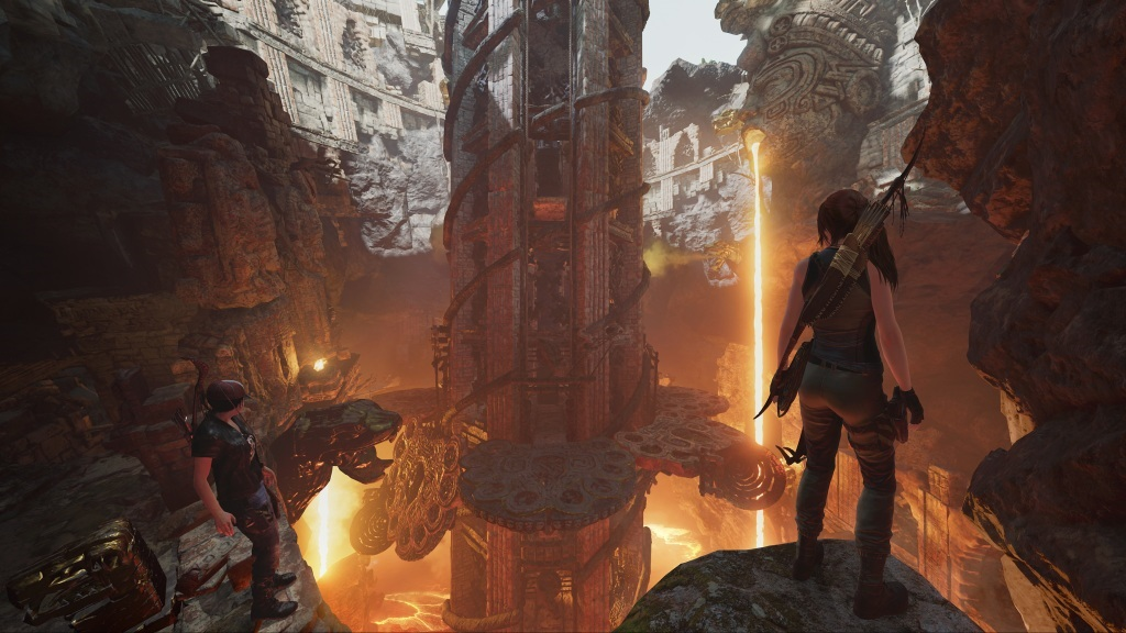 Xbox X018; screenshot: Shadow of the Tomb Raider