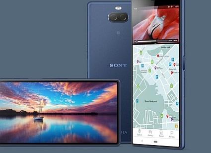 Mobilní telefony Sony