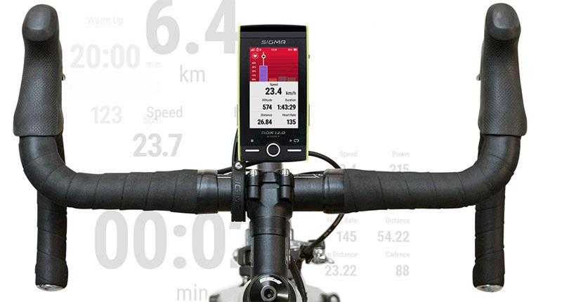 Chytrá cyklonavigace Sigma ROX 12.0