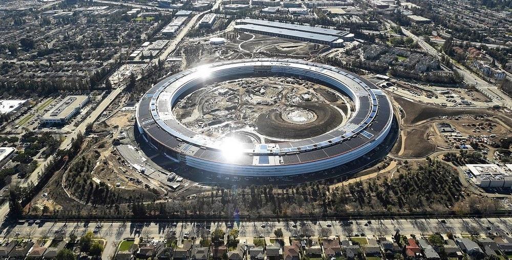 Apple - sídlo v Silicon Valley