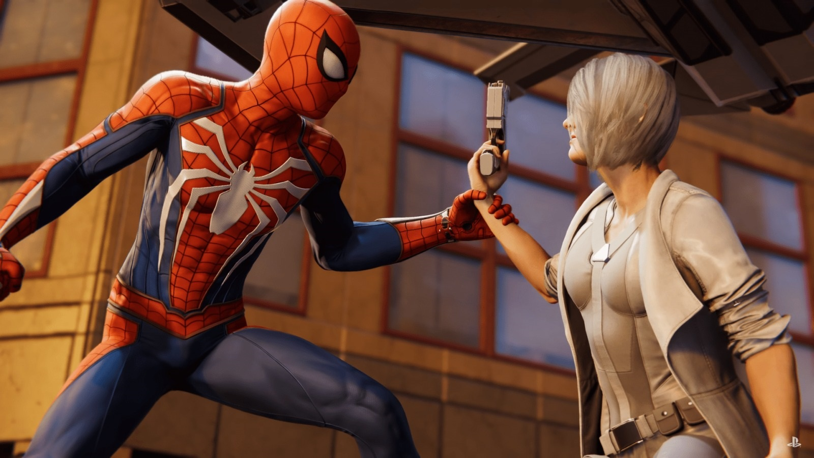 Marvel's Spider-Man: Silver Lining; screenshot: Silver Sable