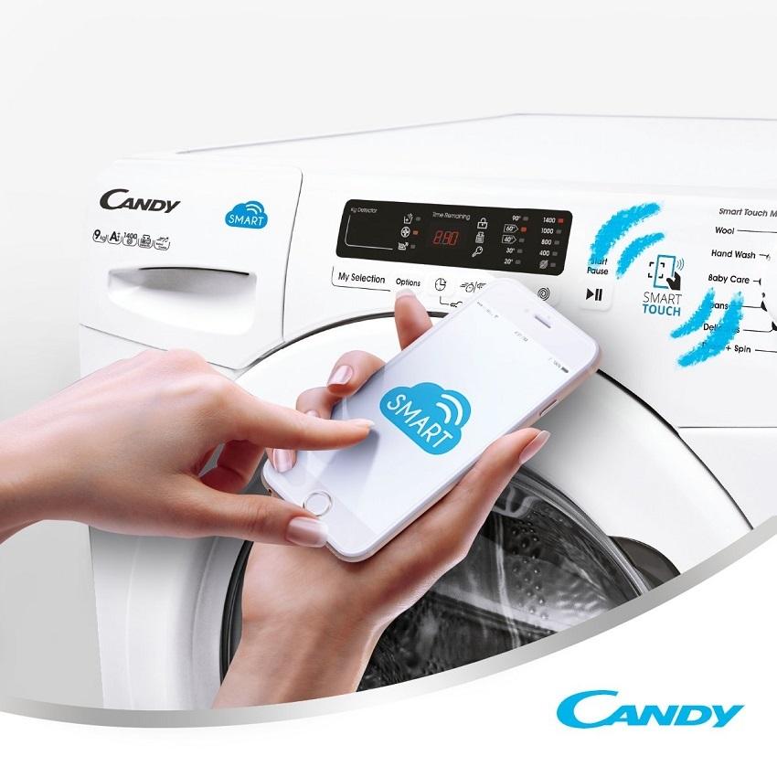 Smart Touch; technologie; pračka; mobil