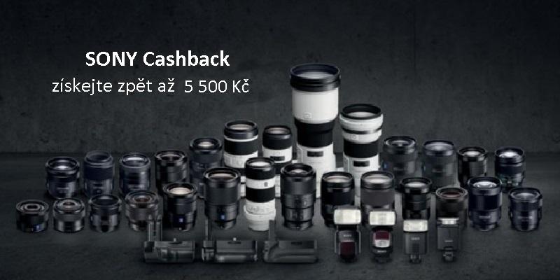 Kupte vybraný objektiv značky SONY a získejte zpět až 5 500 Kč!