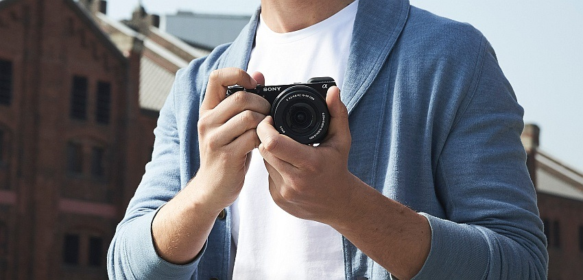 Vlogování - fototechnika Sony