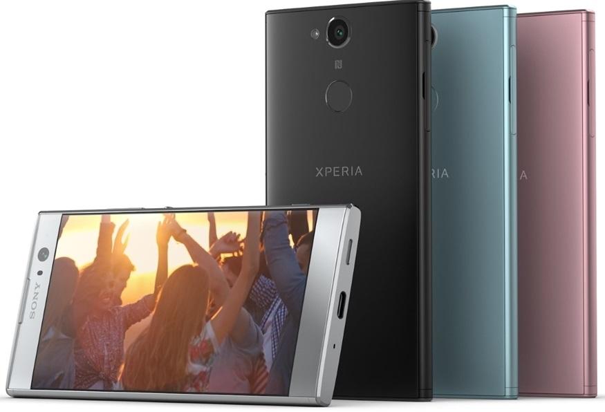 Sony Xperia XA2, barvy