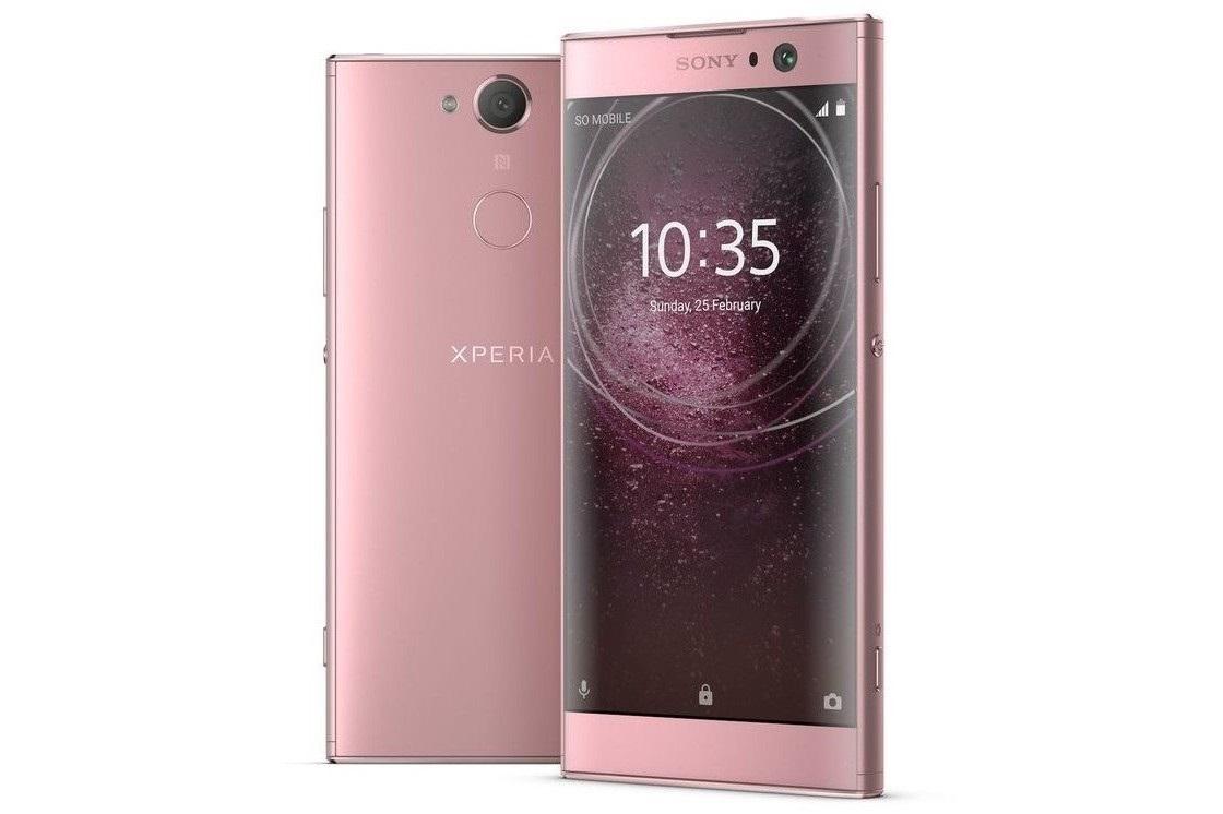 Sony Xperia XA2, růžová