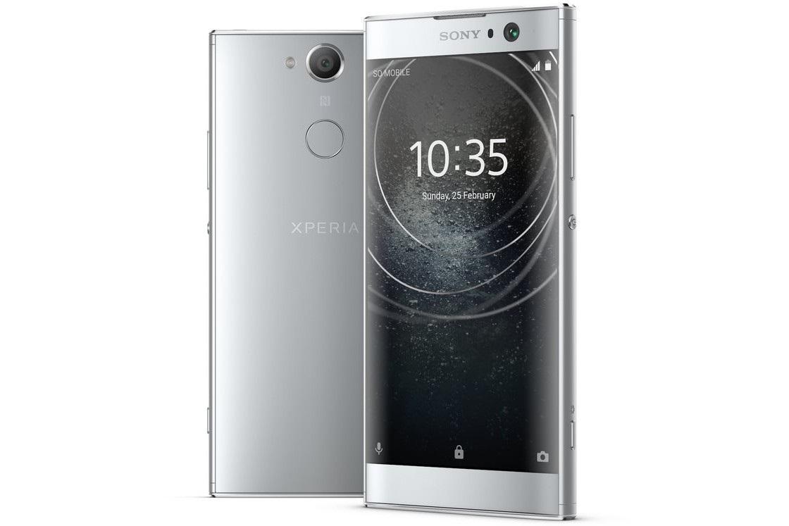 Sony Xperia XA2, stříbrná