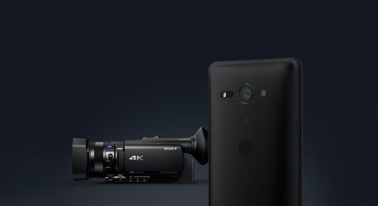Sony Xperia XZ2, záznam 4K