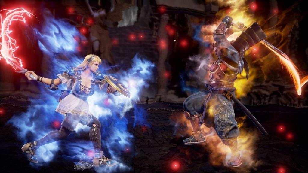 Nejočekávanější hry v říjnu 2018; SoulCalibur 6, screenshot: efekty