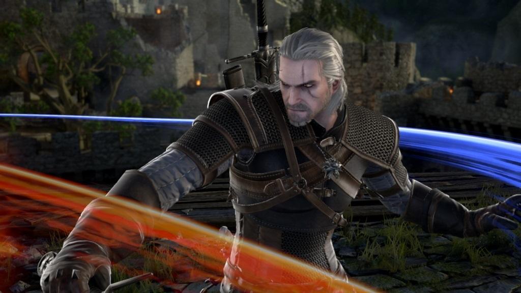 Nejočekávanější hry v říjnu 2018; SoulCalibur 6, screenshot: Geralt