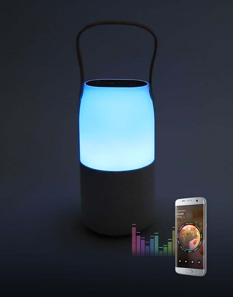 Funkce Music Light; Samsung Sound Bottle