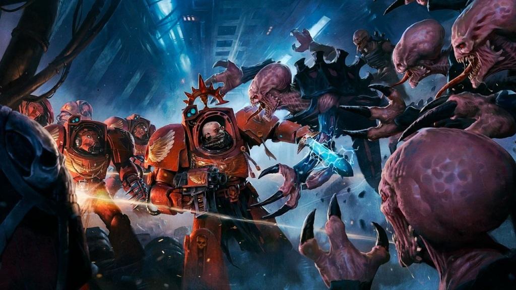 Space Hulk: Tactics; wallpaper: cover