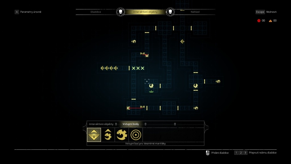 Space Hulk: Tactics; gameplay: vlastní mapa