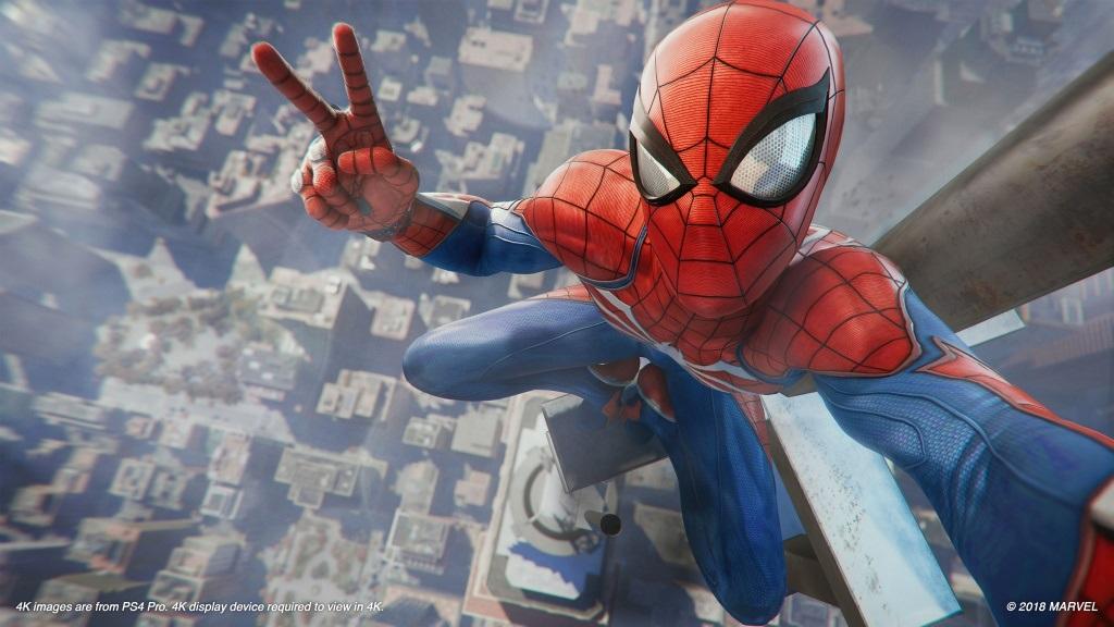 Nejlepší hry; Spider-Man; screenshot: New York