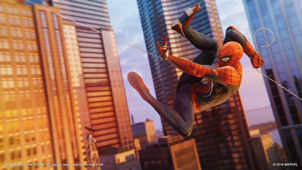 Nejočekávanější hry v září 2018; Spider-Man, screenshot: New York