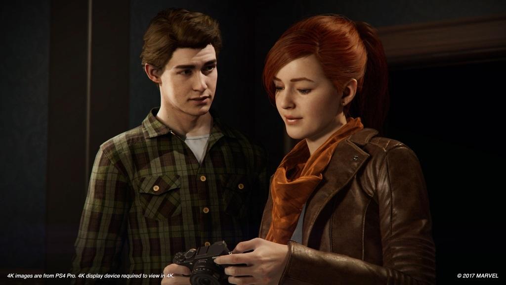Nejlepší hry; Spider-Man; screenshot: Peter