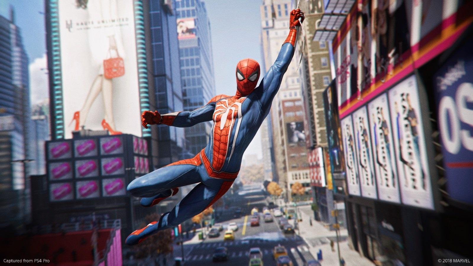 Marvel's Spider-Man; gameplay: průlet