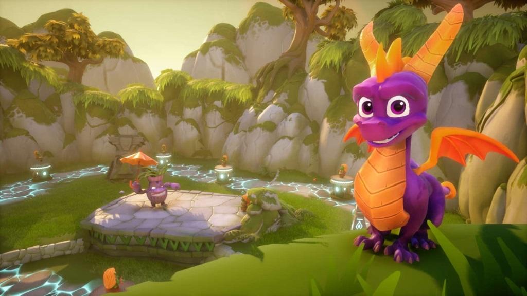 Nejočekávanější hry v listopad 2018; Spyro Reignited Trilogy, screenshot: prostředí