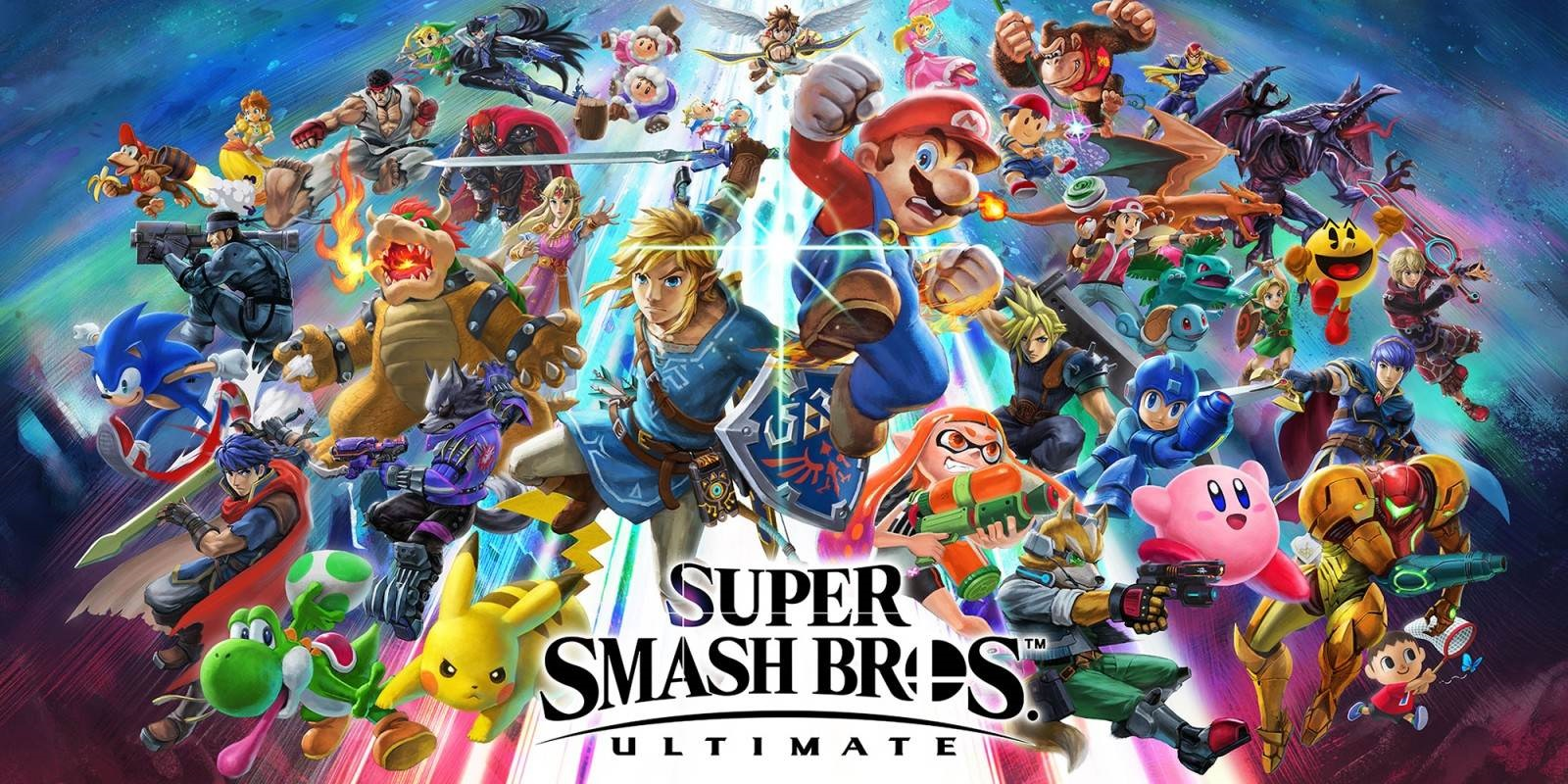 Super Smash Bros. Ultimate; screenshot: cover
