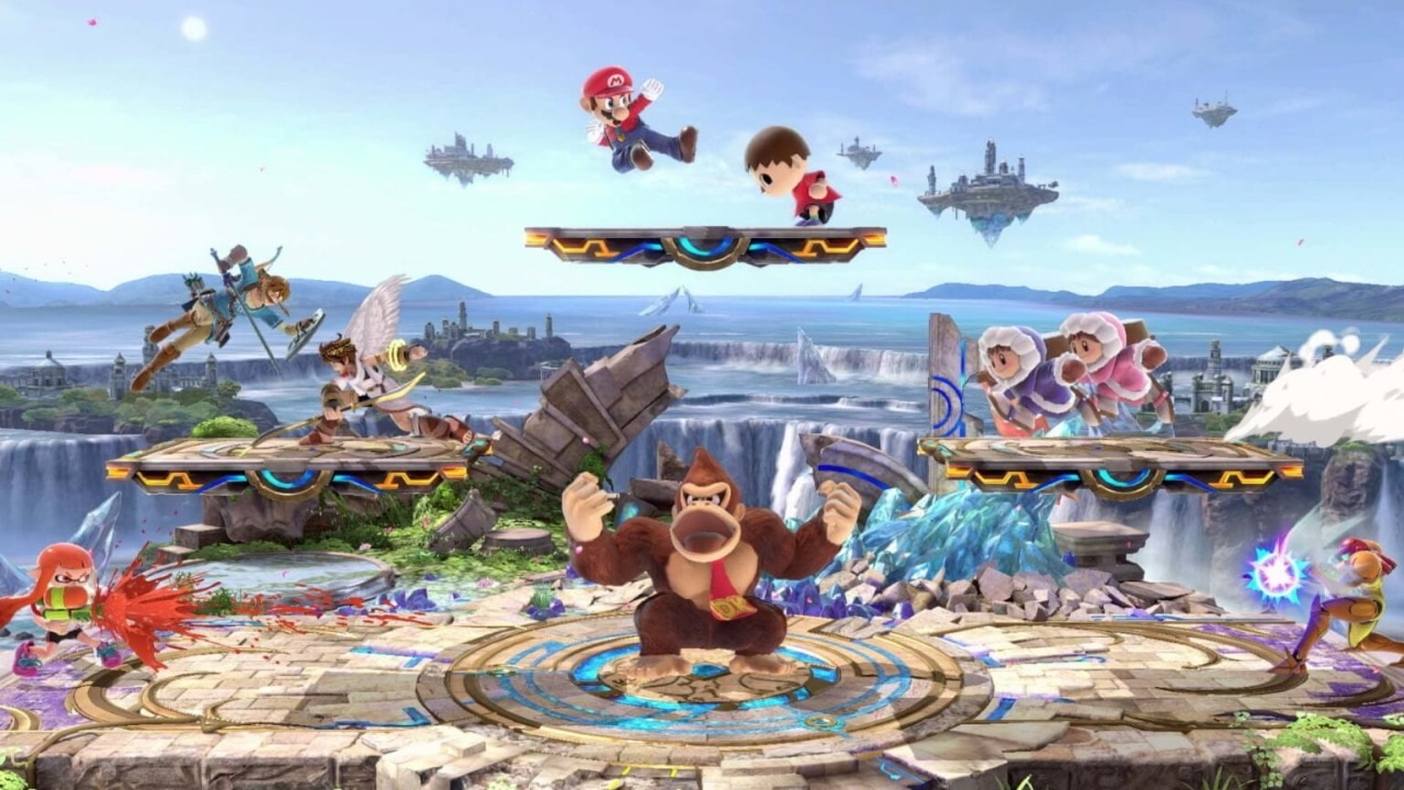 Nejočekávanější hry v prosinec 2018; Super Smash Bros. Ultimate, screenshot: fight