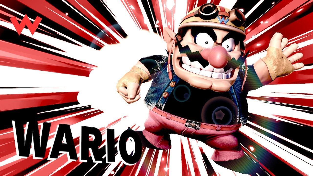 Super Smash Bros. Ultimate; screenshot: Wario