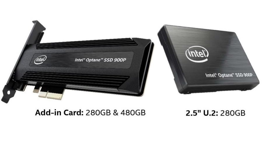 SSD Intel Oprane 900p
