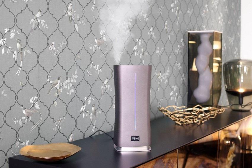 Zvlhčovač vzduchu jako designový doplněk