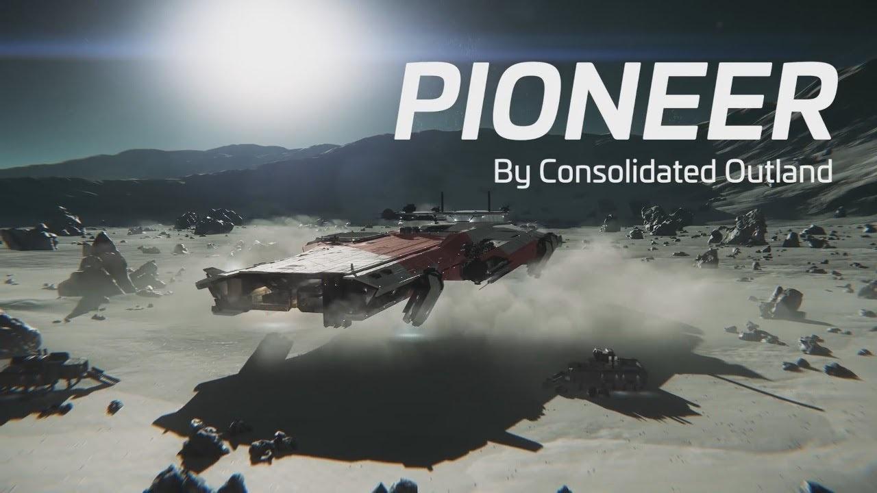 Star Citizen; Wallpaper: pioneer, vesmírná loď