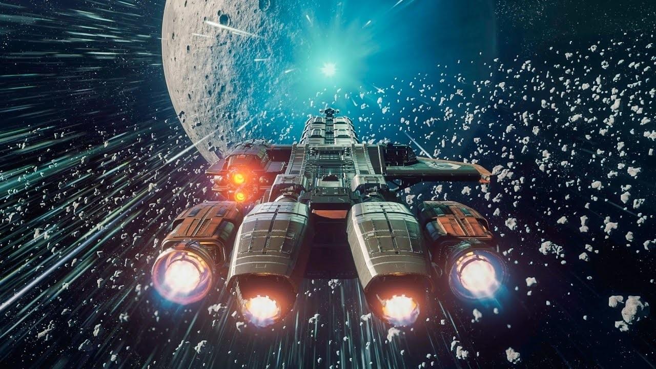 Star Citizen; Wallpaper: ftl, jump, ship