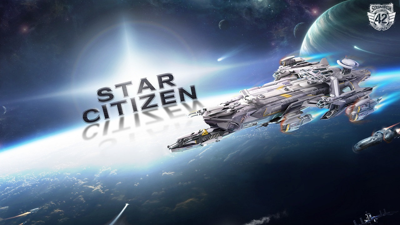 Star Citizen; Wallpaper: squadron, 42, kampan