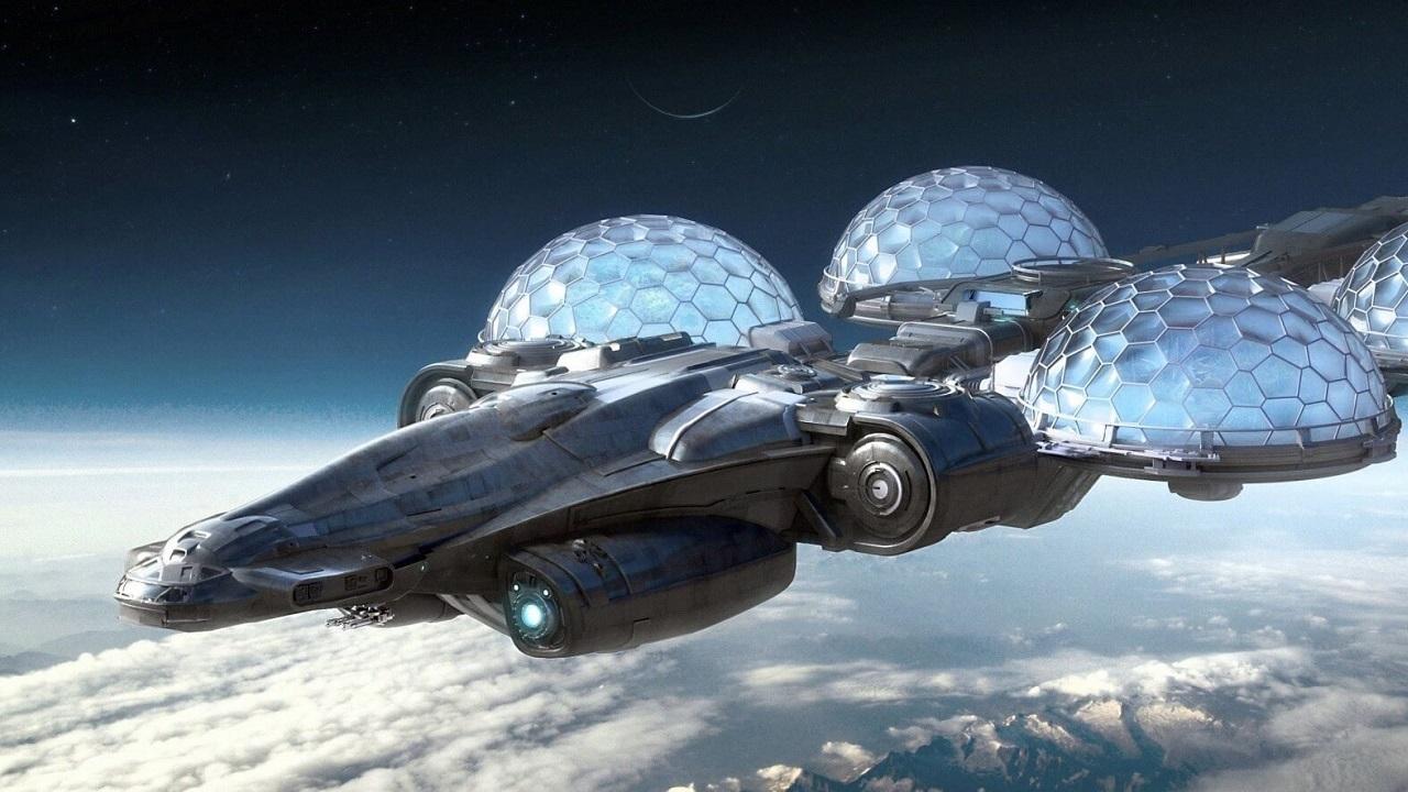 Star Citizen; screenshot: vesmírná loď
