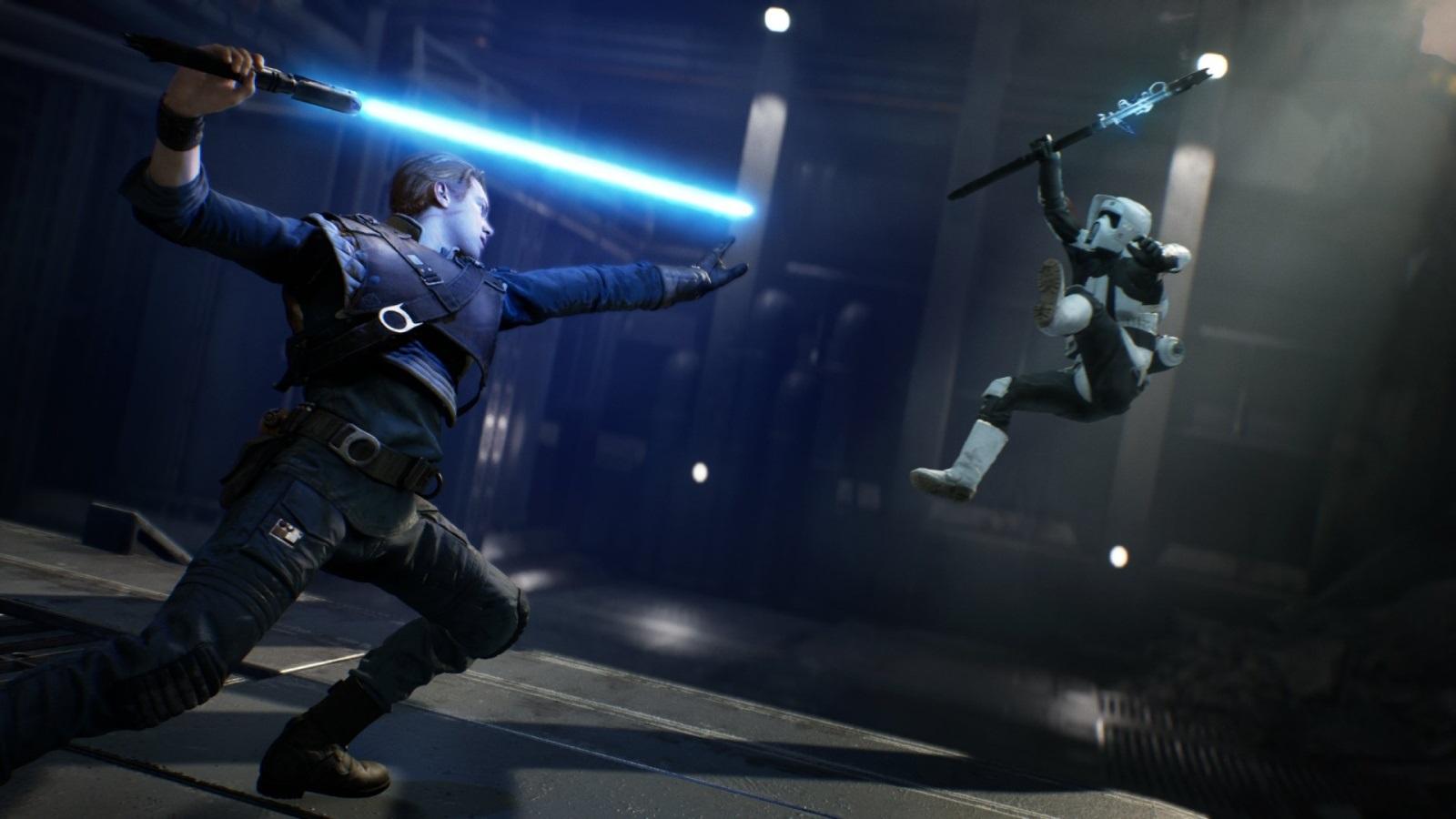 Star Wars Jedi: Fallen Order; screenshot: force