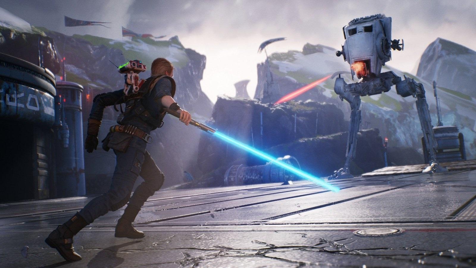 Star Wars Jedi: Fallen Order; screenshot: robot