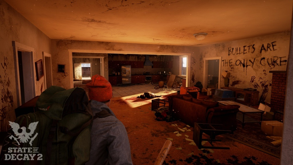 State of Decay 2; Wallpaper: rabování