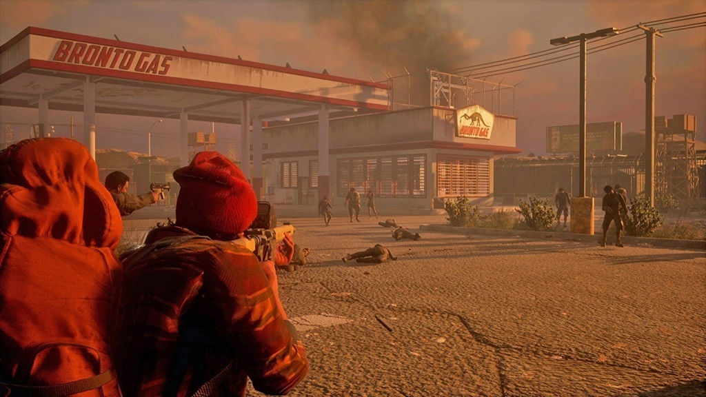 State of Decay 2; Wallpaper: střílečka