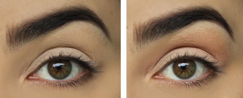 Stínování očí