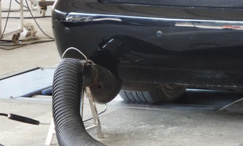 STK - měření emisí