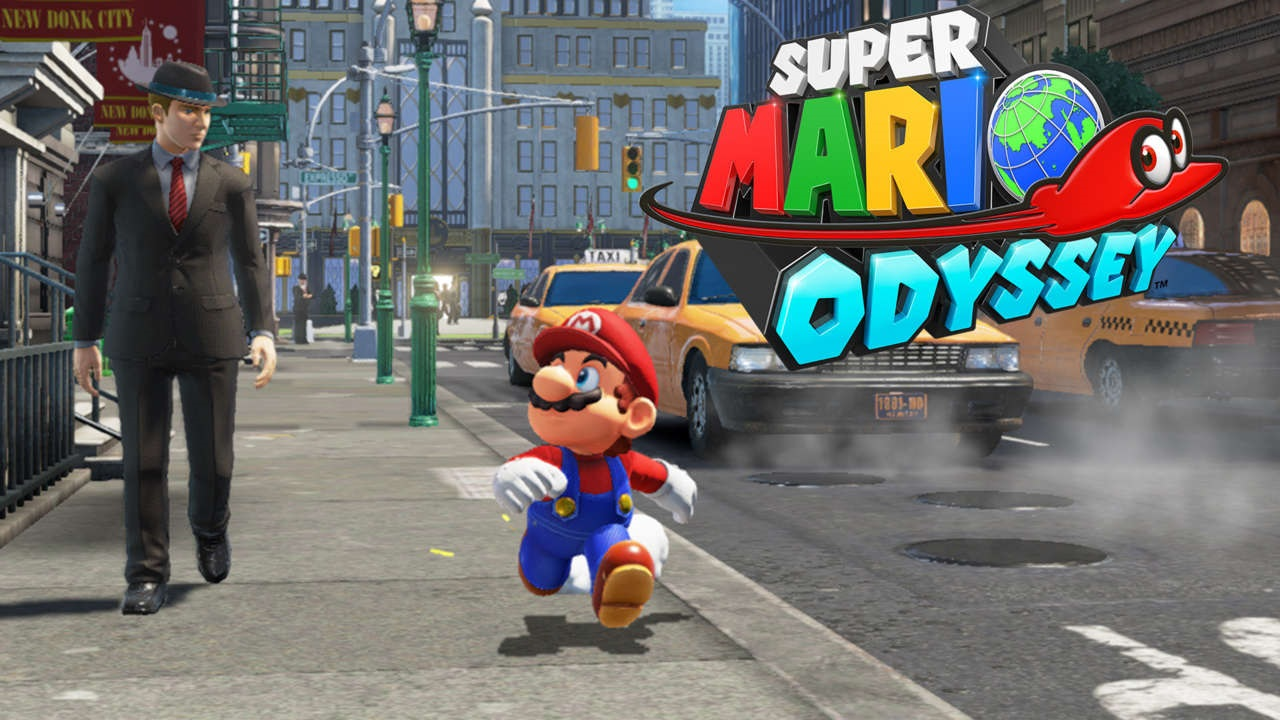 Super Mario Odyssey; Mario in the city