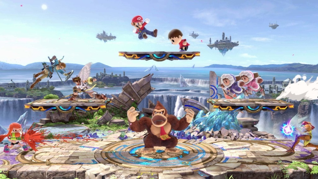 Super Smash Bros. Ultimate; screenshot: aréna