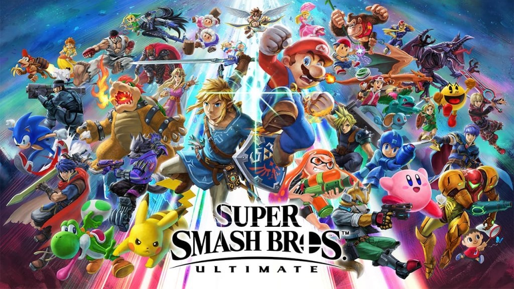 Super Smash Bros. Ultimate; wallpaper: cover