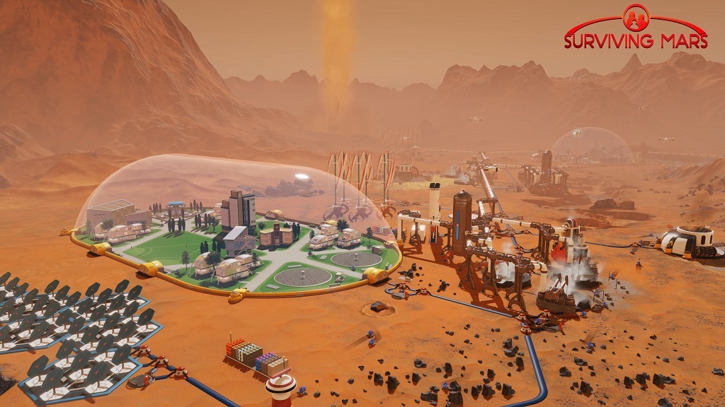 Surviving Mars; base, Mars,
