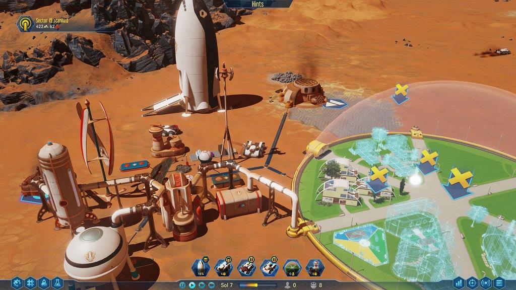 Surviving Mars, base