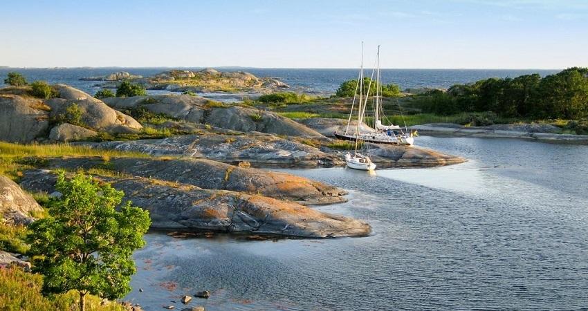 Rybolov ve Švédsku; pobřeží