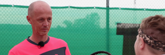 Petr Pála radí jak vybrat tenisovou raketu