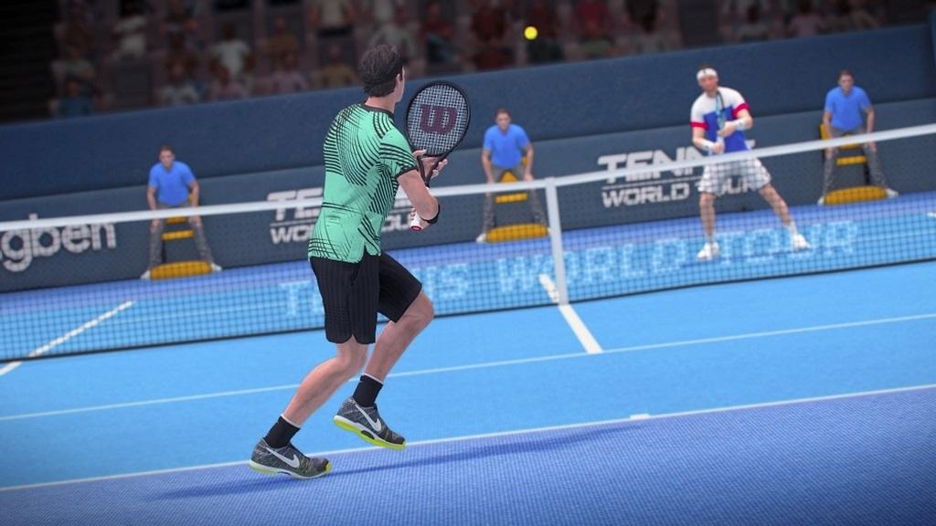 Nejočekávanější hry květen 2018; Tennis World Tour, gameplay: odpal