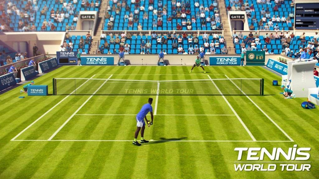Nejočekávanější hry květen 2018; Tennis World Tour, wallpaper: podání