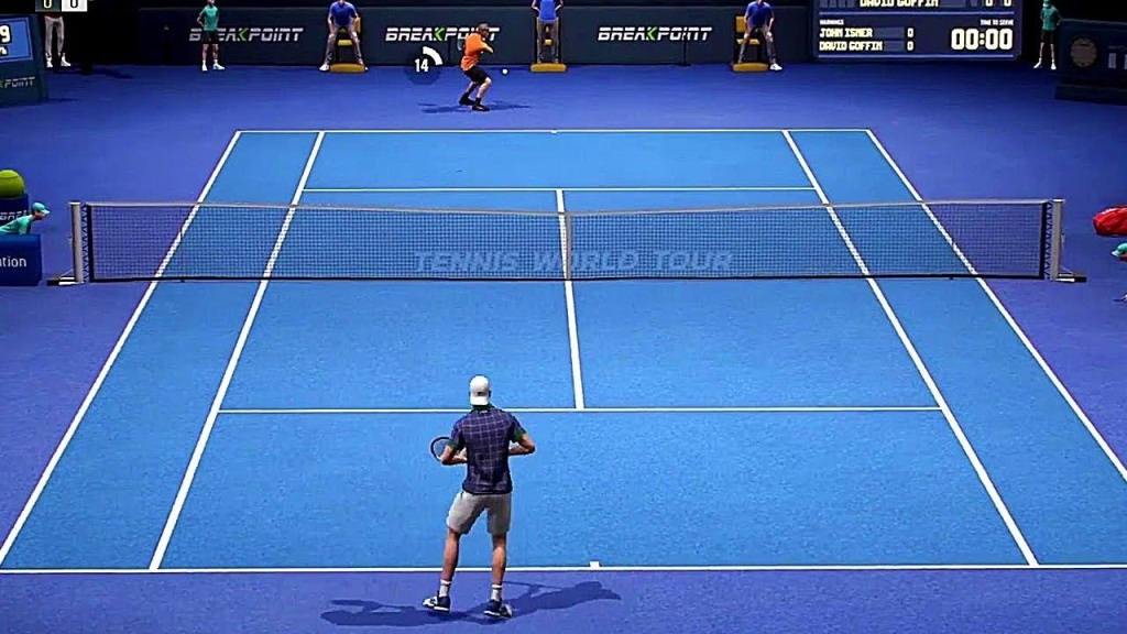 Nejočekávanější hry květen 2018; Tennis World Tour, gameplay: zápas