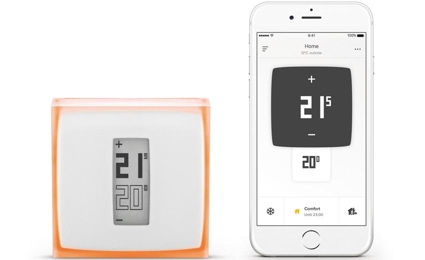 Netatmo termostat a aplikace