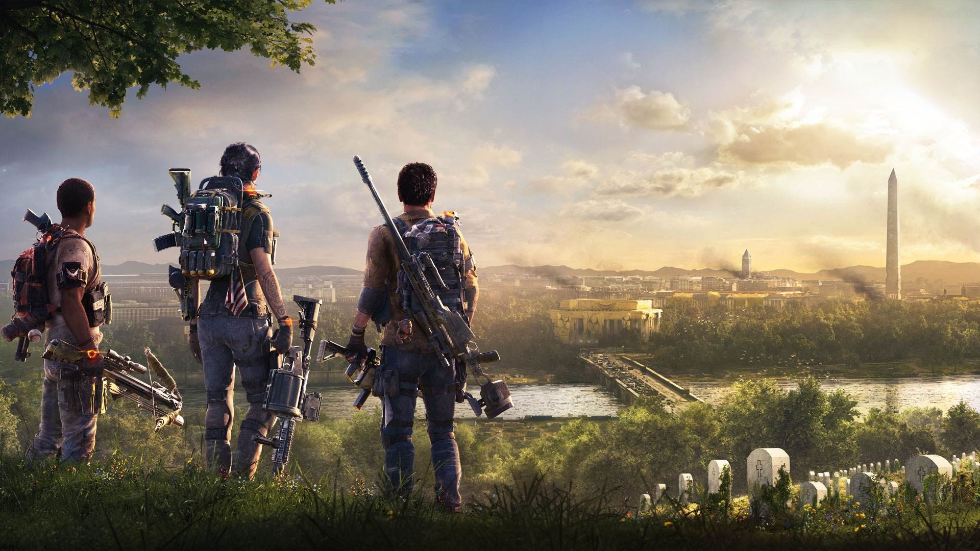 Nedostatky AAA her; wallpaper: The Division 2