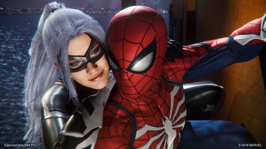 Marvel's Spider-Man: The City That Never Sleeps; screenshot: The Heist – Black Cat, Spidey